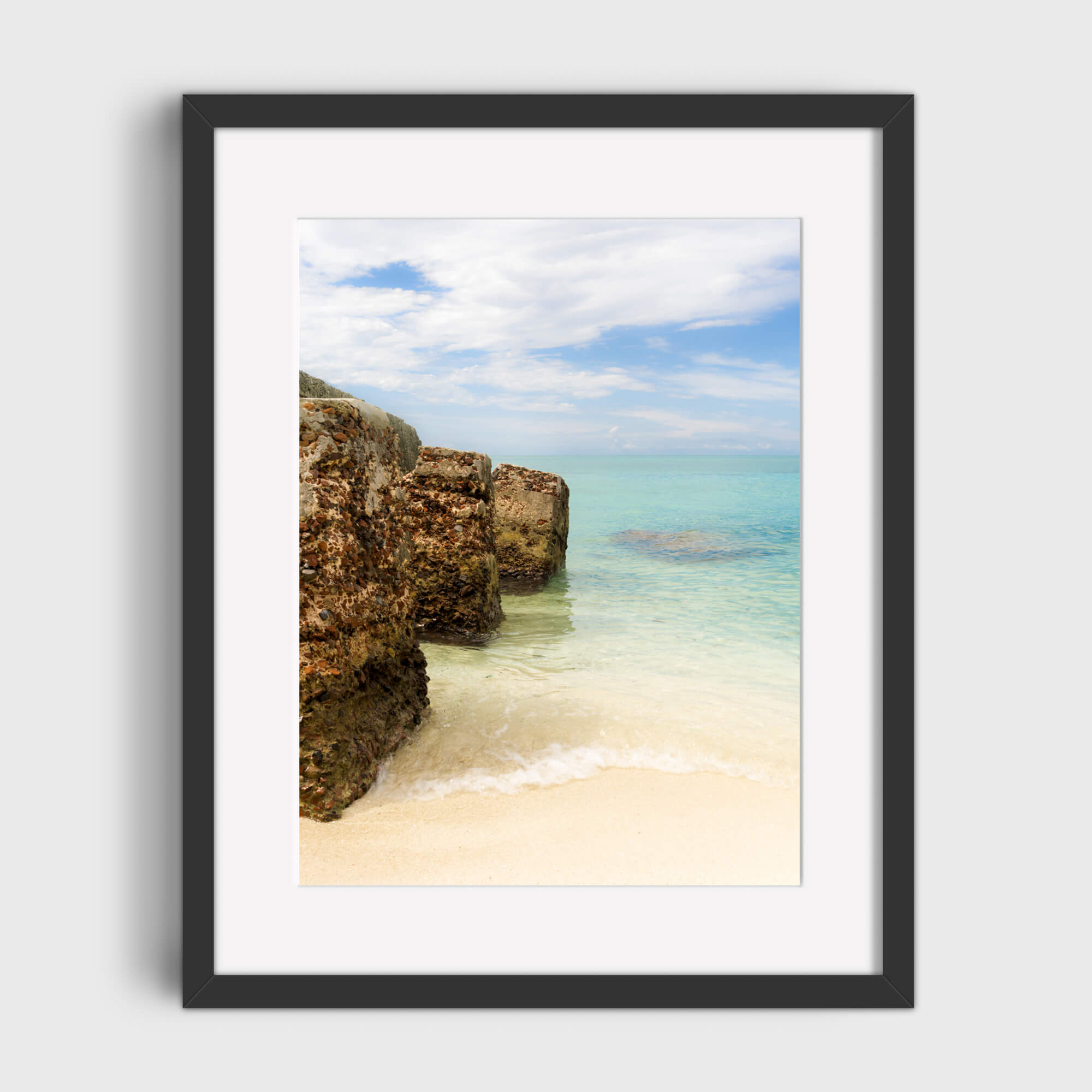 Tortuga Pillars - Care Studio Prints
