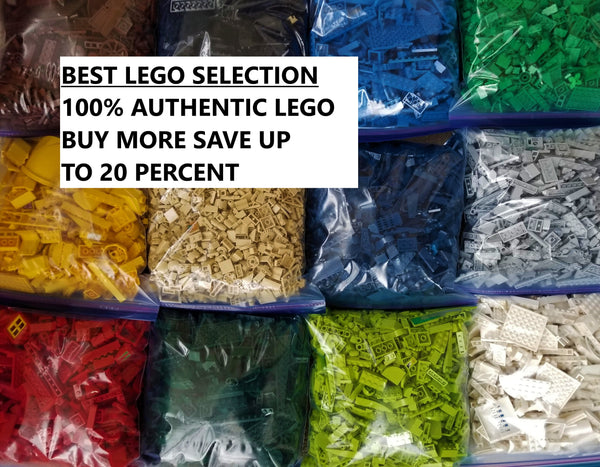 LEGO PIECES PACKS BULK CHOOSE YOUR LEGO COLOR & LEGO AMOUNT 100% AUTHENTIC LEGOS