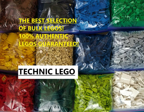 LEGO TECHNIC PACKS BULK CHOOSE TECHNIC COLOR & AMOUNT 100% AUTHENTIC TECHNIC