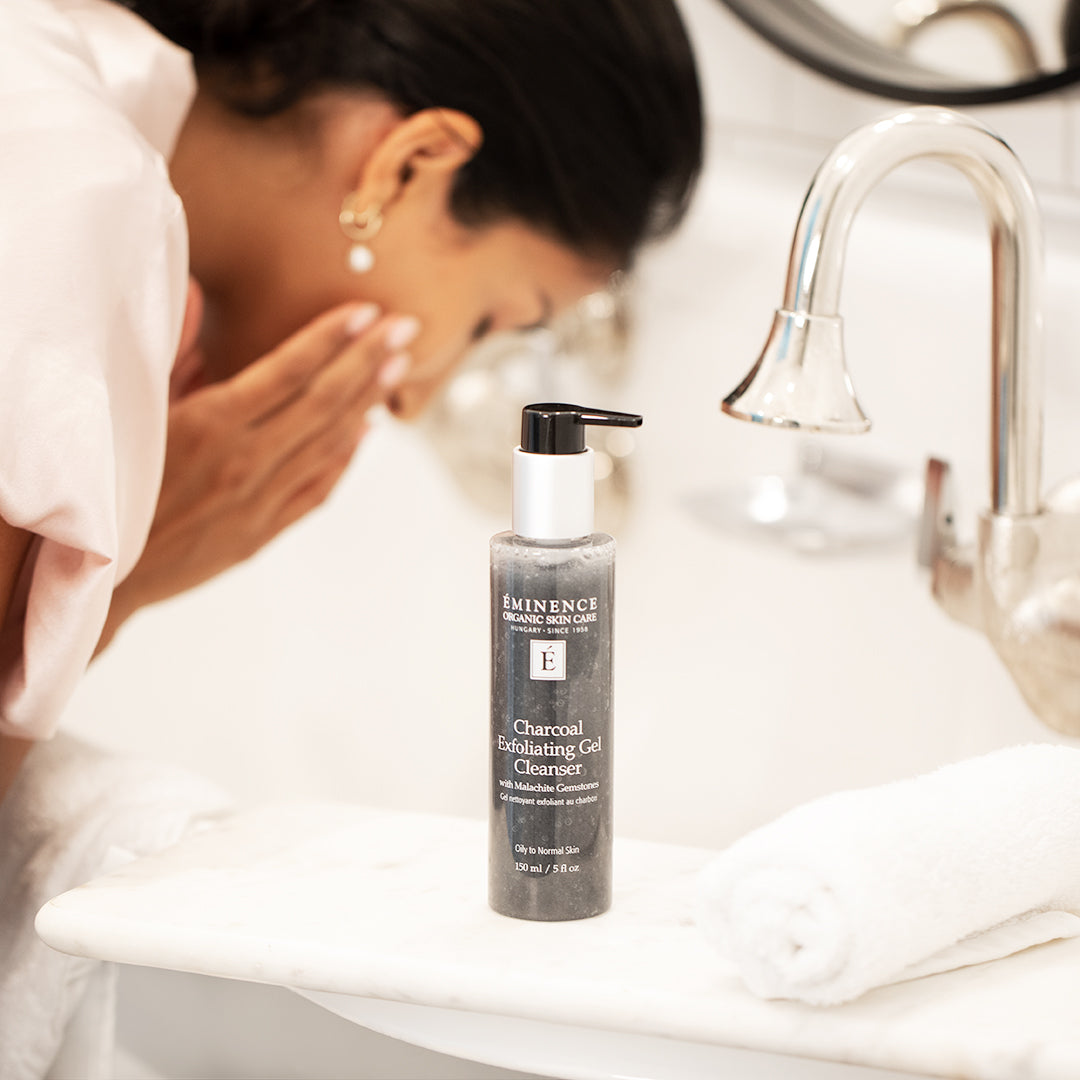 Charcoal Exfoliating Gel Cleanser