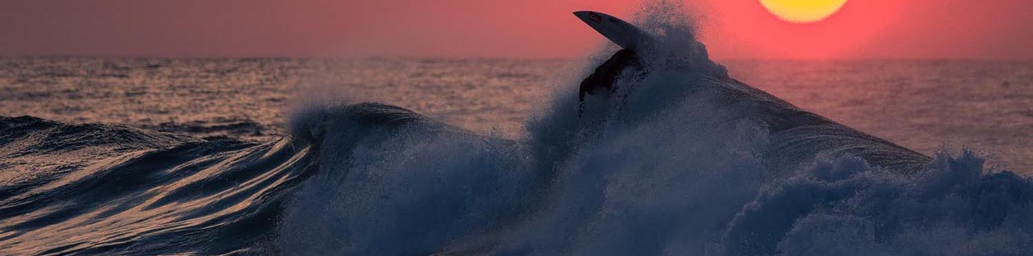 Surfing at Dawn