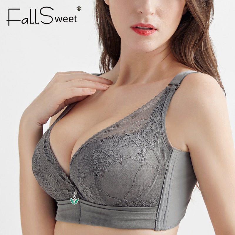 Push Up Bra for Women Padded Plus Size Underwire Bras