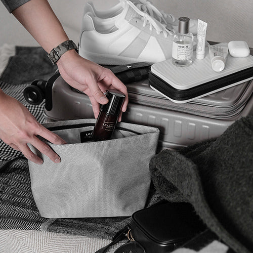 Toiletry Case (Warm Gray)