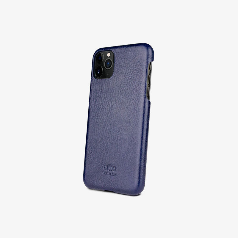 iPhone 11 Pro Leather Case Original  (Navy)