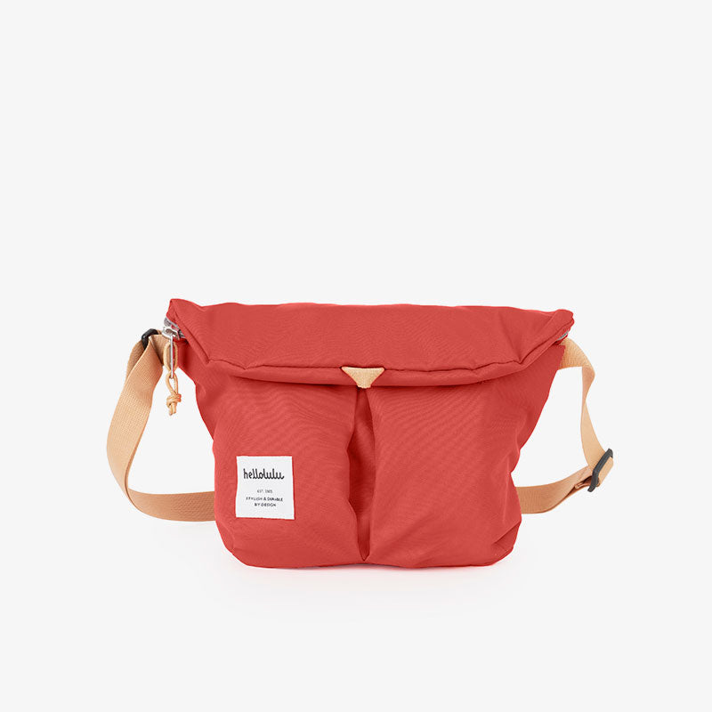 Mini KASEN All Day Shoulder Bag (Pomegranate)