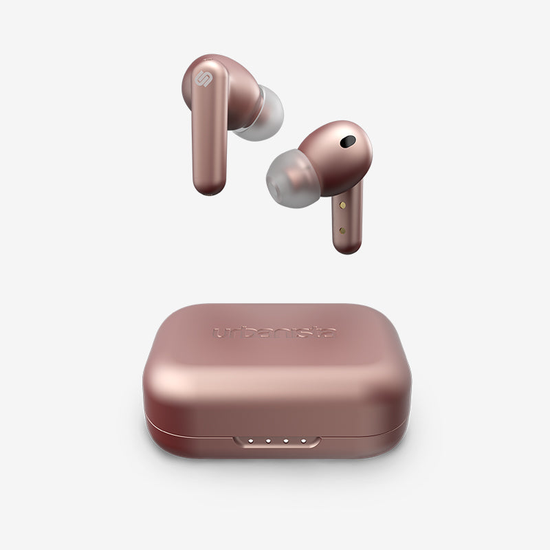 LONDON True Wireless ANC Earbuds (Rose Gold)