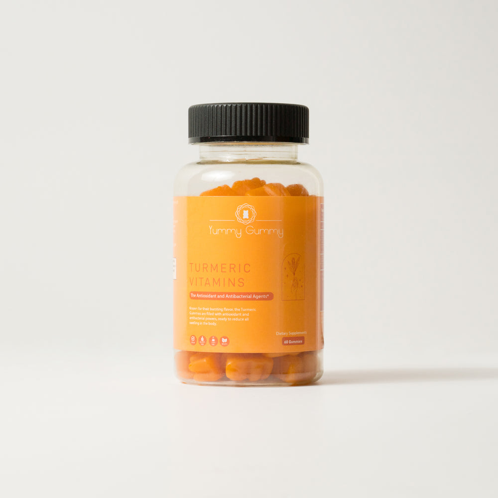 Load image into Gallery viewer, Turmeric Gummies- The Antioxidant and Antibacterial Agents