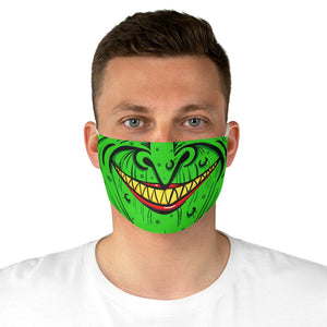 Buy Online Cool & Trendy Silver Shamrock Witch Face Mask - Silver Shamrock