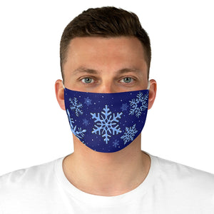 Buy Online Cool & Trendy Silver Shamrock Frozen Snow Face Mask - Silver Shamrock