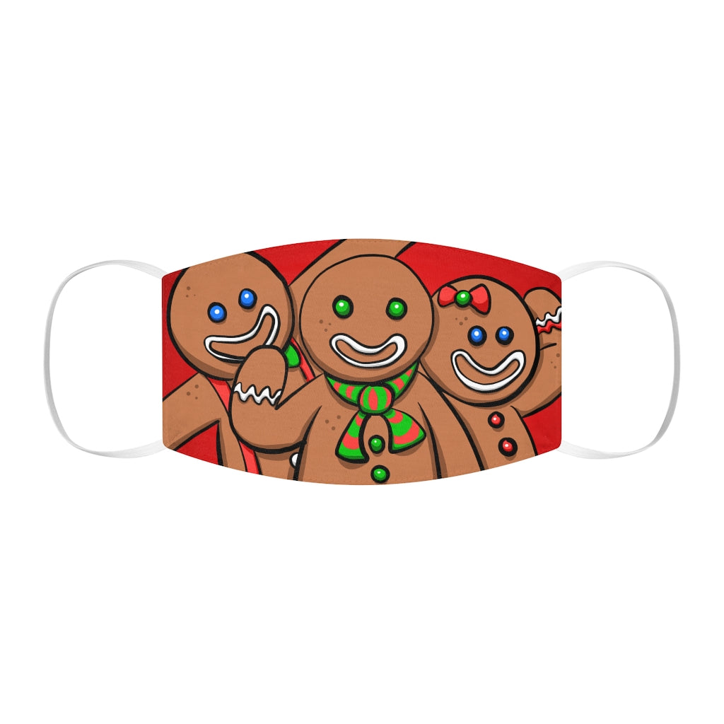 Buy Online Cool & Trendy Silver Shamrock Snug Fit Gingerbread Man Face Mask - Silver Shamrock