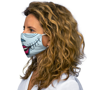 Buy Online Cool & Trendy Silver Shamrock Snug Fit Sally Face Mask - Silver Shamrock