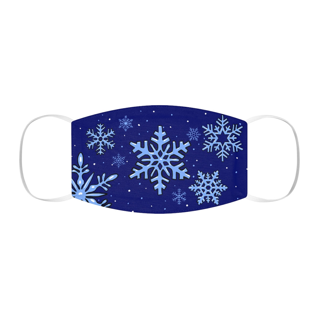 Buy Online Cool & Trendy Silver Shamrock Snug Fit Frozen snow Face Mask - Silver Shamrock