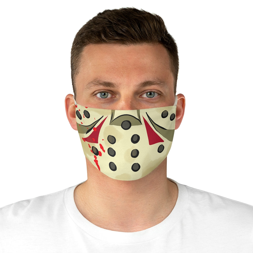 Buy Online Cool & Trendy Silver Shamrock Jason Face Mask - Silver Shamrock
