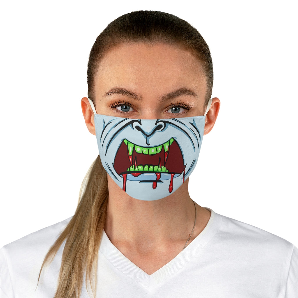 Buy Online Cool & Trendy Silver Shamrock Vampire Face Mask - Silver Shamrock