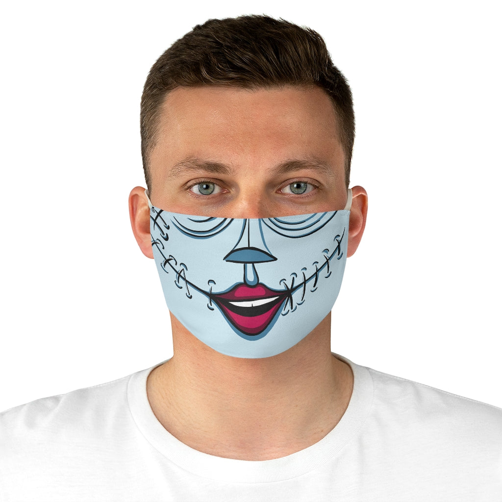Buy Online Cool & Trendy Silver Shamrock Sally Face Mask - Silver Shamrock