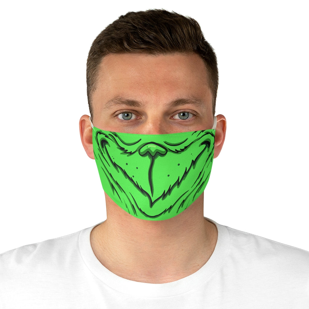 Buy Online Cool & Trendy Silver Shamrock Grinch Adult Face Mask - Silver Shamrock