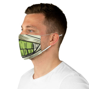 Buy Online Cool & Trendy Silver Shamrock Mummy Face Mask - Silver Shamrock
