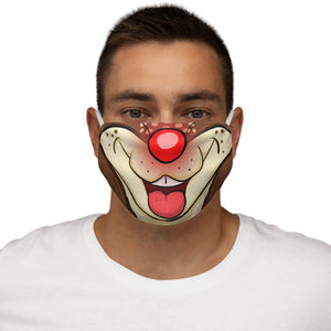 Buy Online Cool & Trendy Silver Shamrock Snug Fit Rudolph The Red Nosed Reindeer Face Mask - Silver Shamrock