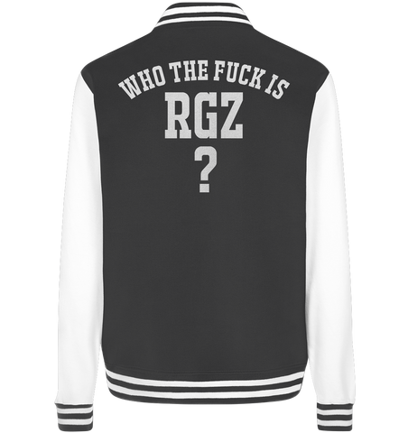 Who the fuck is RGZ? - College Jacket