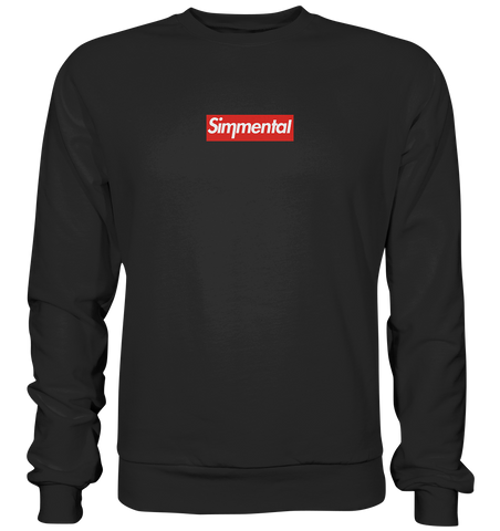 Simmental Supreme-Style Box Logo - Basic Sweatshirt
