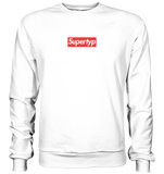 Supertyp Supreme-Style Box Logo - Basic Sweatshirt