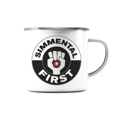 Simmental First - Emaille Tasse