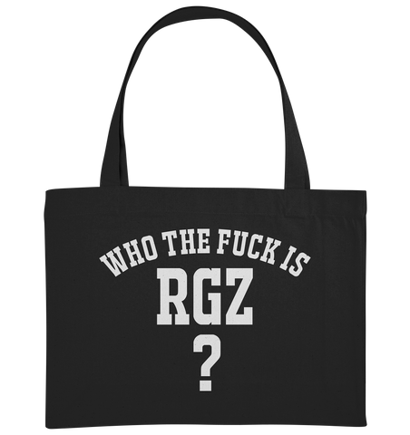 Who the fuck is RGZ? - Organic Shopping-Bag