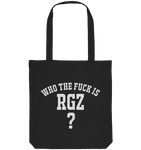 Who the fuck is RGZ? - Organic Tote-Bag