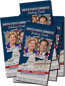 5 Packs of United States Congress Trading Cards