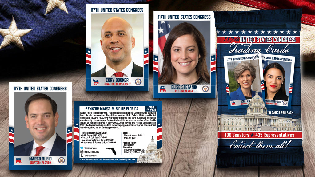 1 Complete Set of 2021 United States Congress Trading Cards (PRE-ORDER)