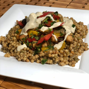 Moroccan-style Balela Vegetable Couscous, Singles (Vegan)