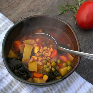 Harvest Barley Soup (Vegan)