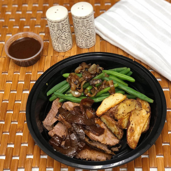 Braised Beef Brisket Meal