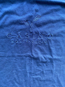 Casino Monte Carlo Embroidered Shirt // Size XL