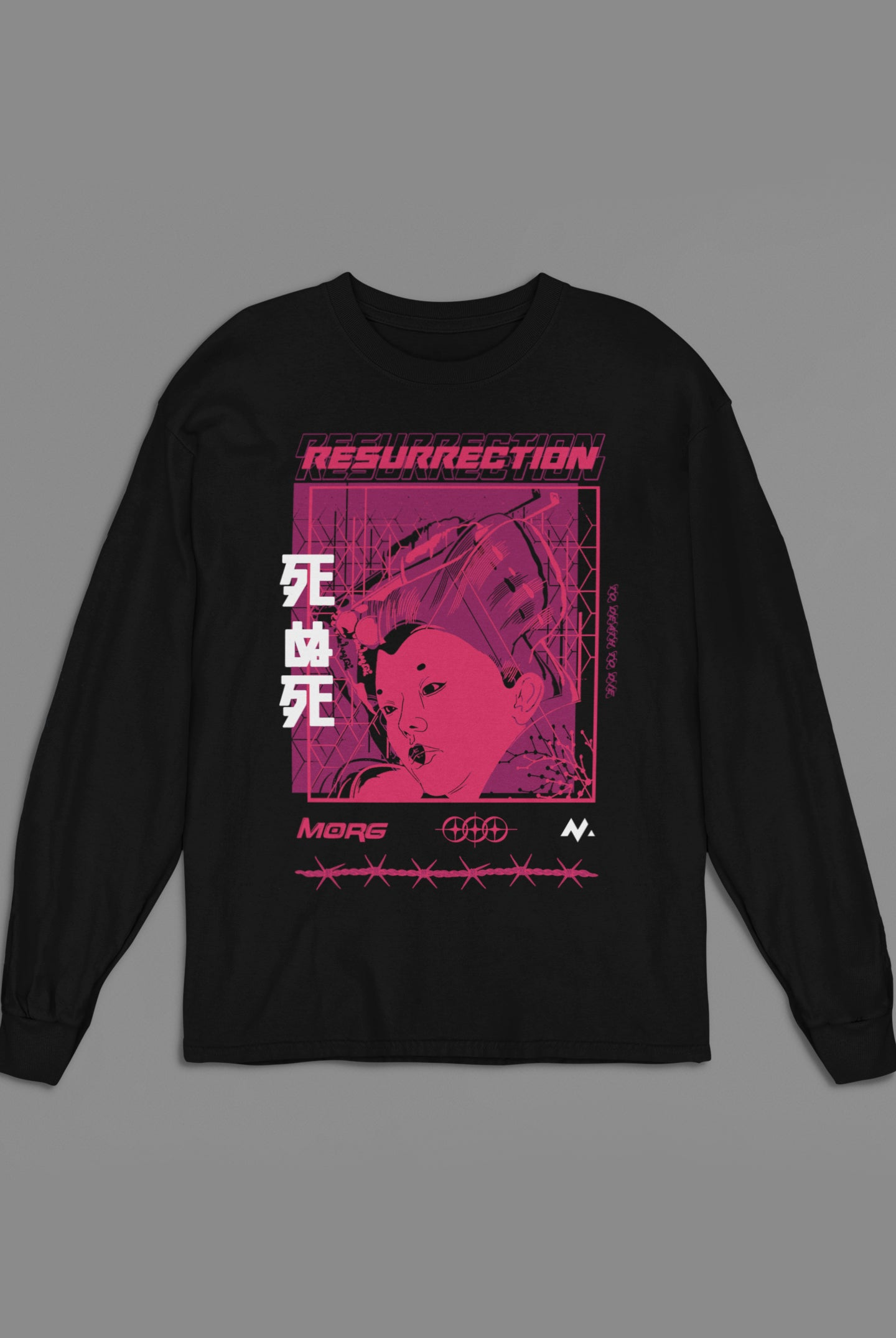 Barbed Wire Long Sleeve