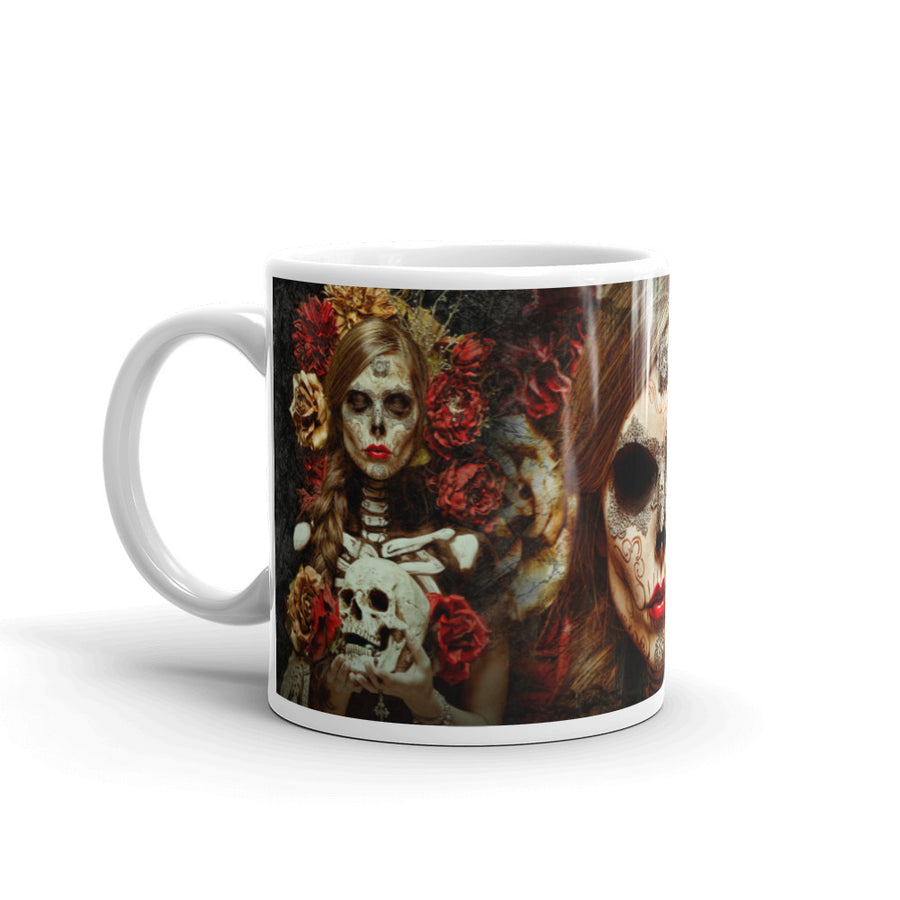 FLOWERS OF DEATH Mug