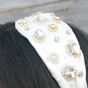 IRMA gemstone headband