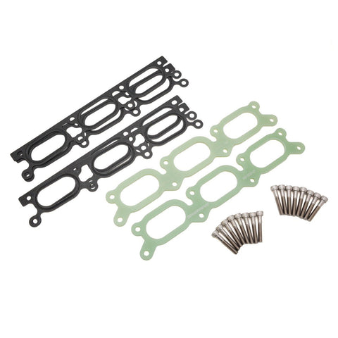 034Motorsport INTAKE MANIFOLD SPACER, PHENOLIC, AUDI B5 A4/S4/RS4 C5 A6/ALLROAD 2.7T & 2.8L 30V V6 - LARGE