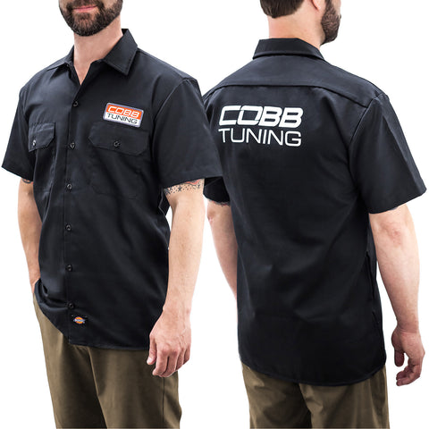 COBB Dickies Work Shirt with Patch - X-Large