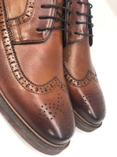 Load image into Gallery viewer, Pedro Camino, Cognac Brogue Shoes