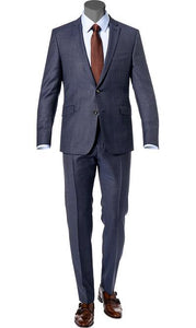 Strellson Dark Blue Suit Allen Slim Fit