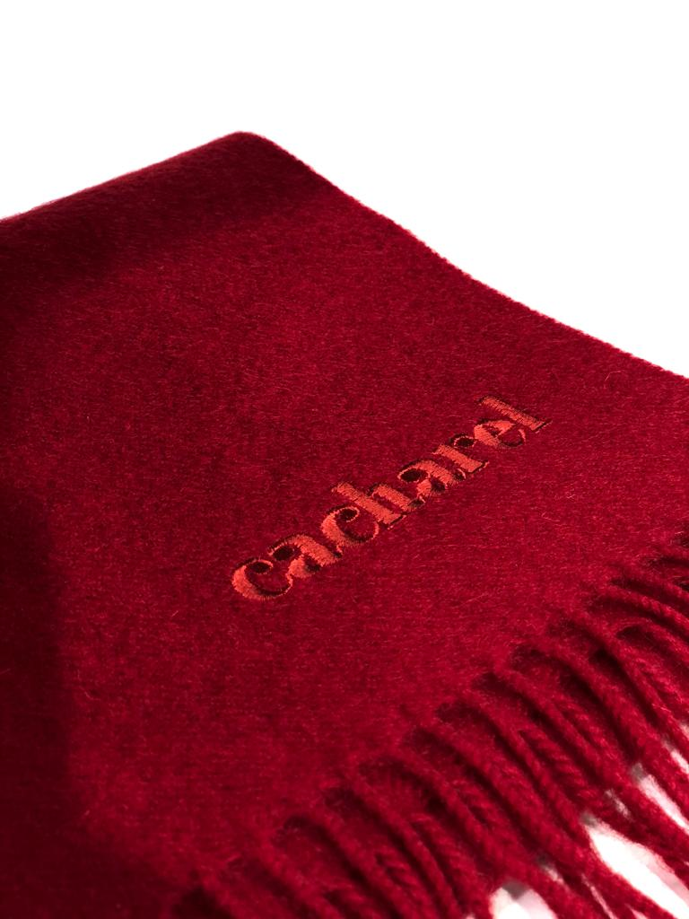 Cacharel, Red Wool Scarf