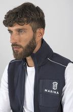 Load image into Gallery viewer, Marina Militare Sailing Team Sleeveless Sweatshirt