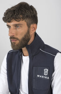 Marina Militare Sailing Team Sleeveless Sweatshirt
