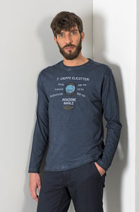 Aviazione Navale, Navy Long Sleeve T-Shirt