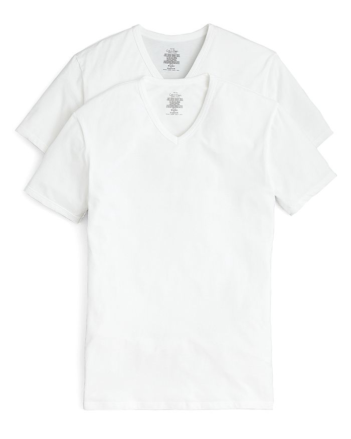 Calvin Klein Modern Cotton Stretch V-Neck T-Shirt