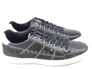 "Gaastra ""Tiller"" Leather Sneakers - Dark Blue"