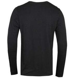 True Religion, Metal Horseshoe Black Long Sleeve T-Shirt