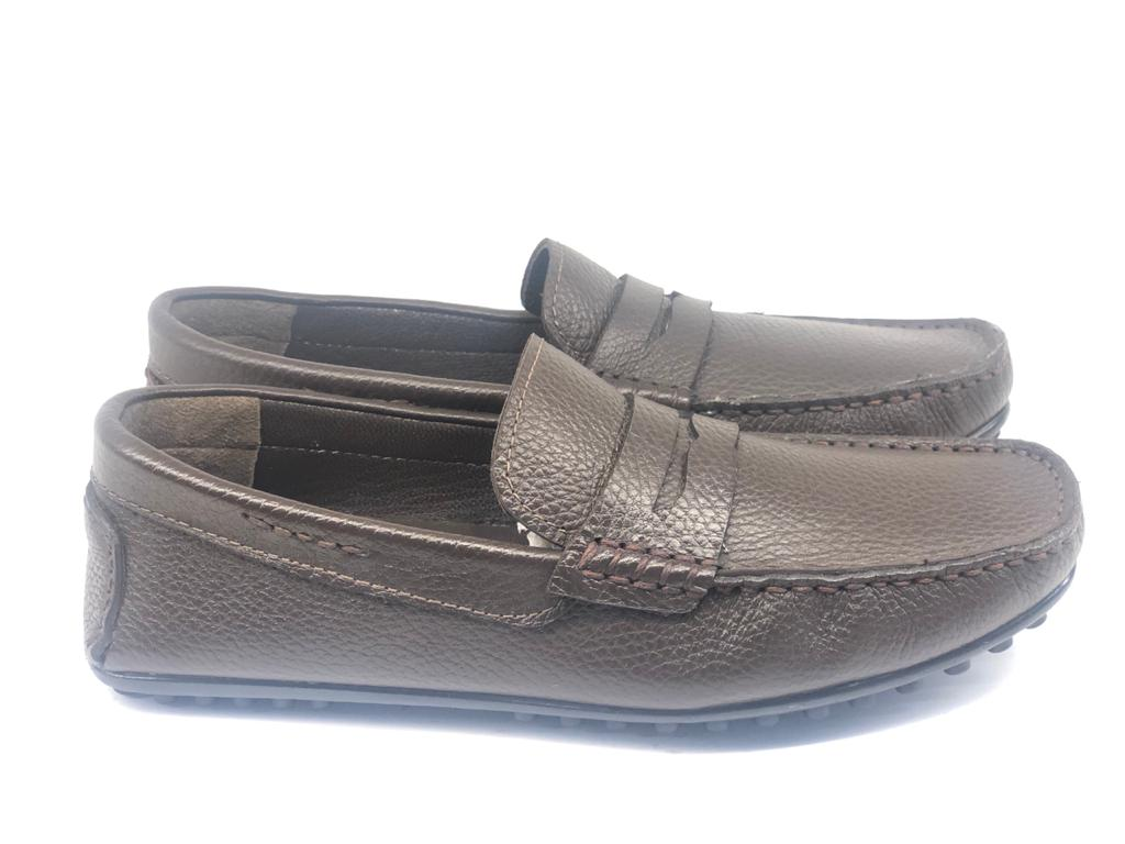 Casual Brown Moccasin Loafers
