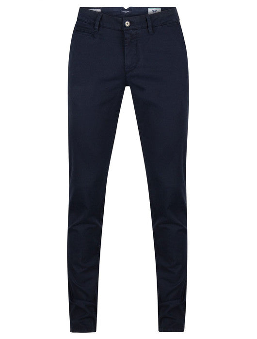 Cavallaro Napoli, Dark Navy Elio Chino Pants